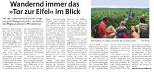 Sternrouten Roetgen im Wochenspiegel 11.11.2020