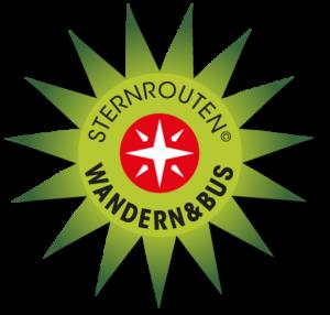 Sternrouten Logo im grünen Stern