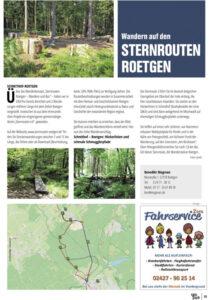 Artikel Sternrouten Schmihof-Roetgen